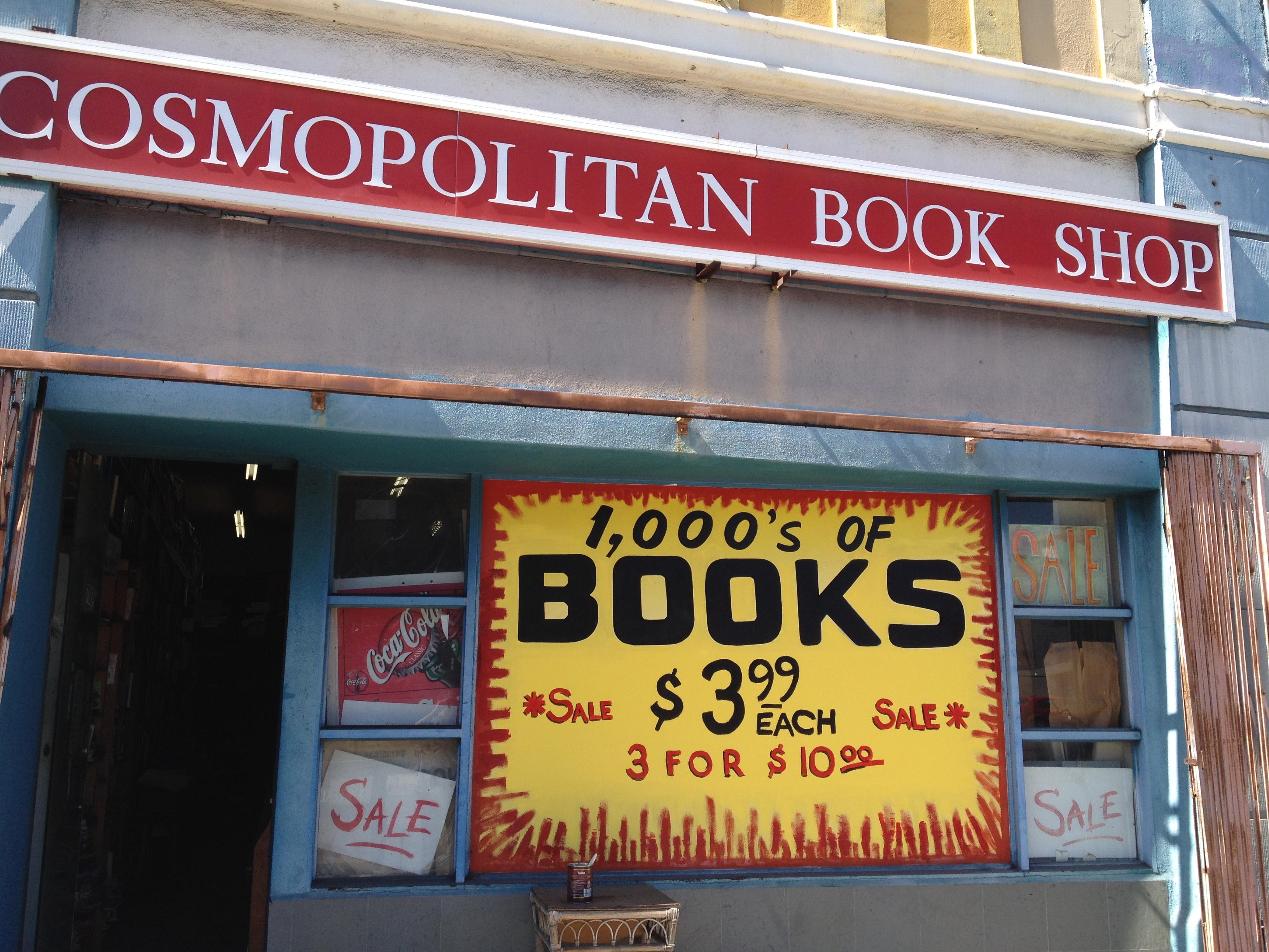 Cosmopolitan Book Shop