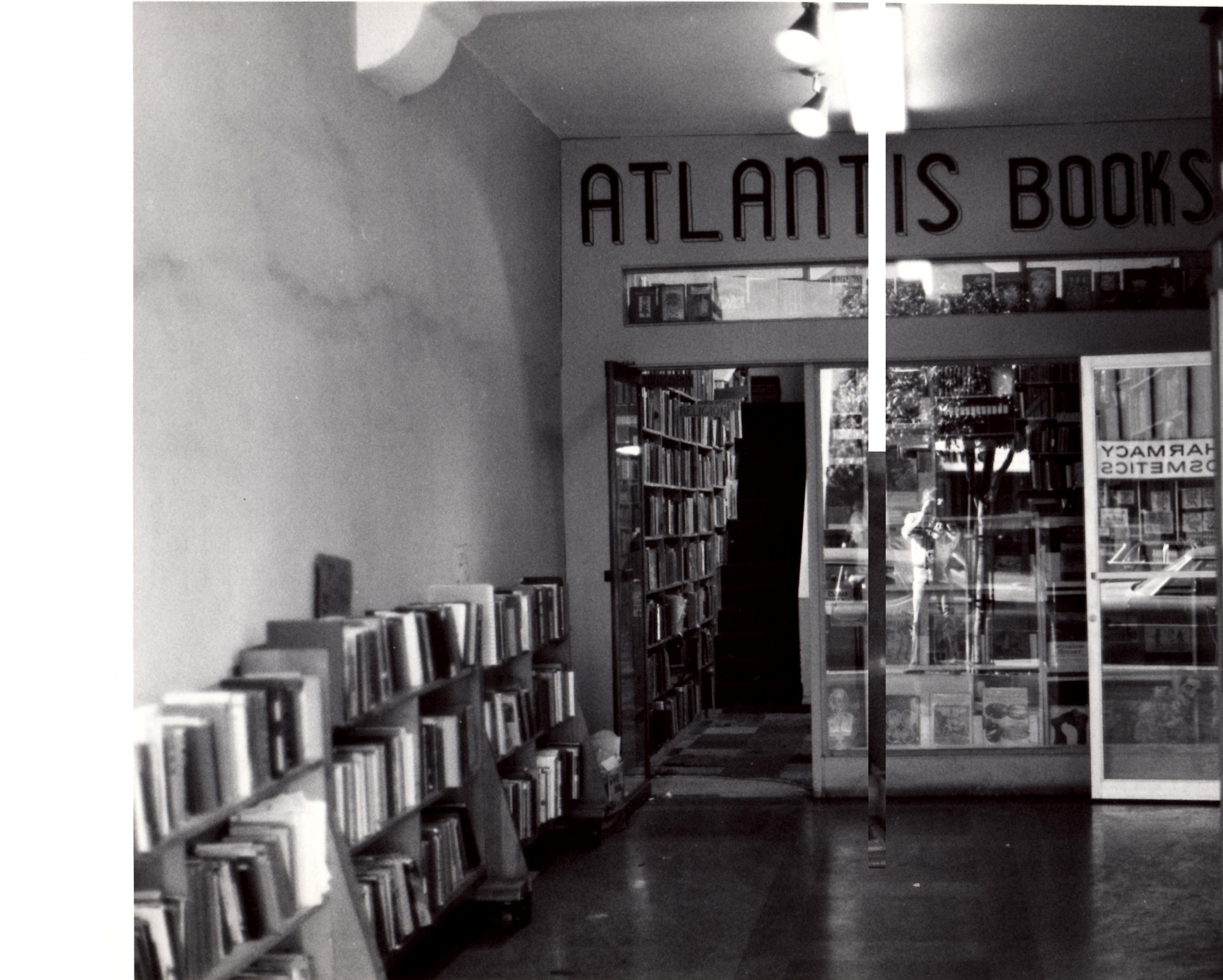 Atlantis Books. Photo by Wayne Braby