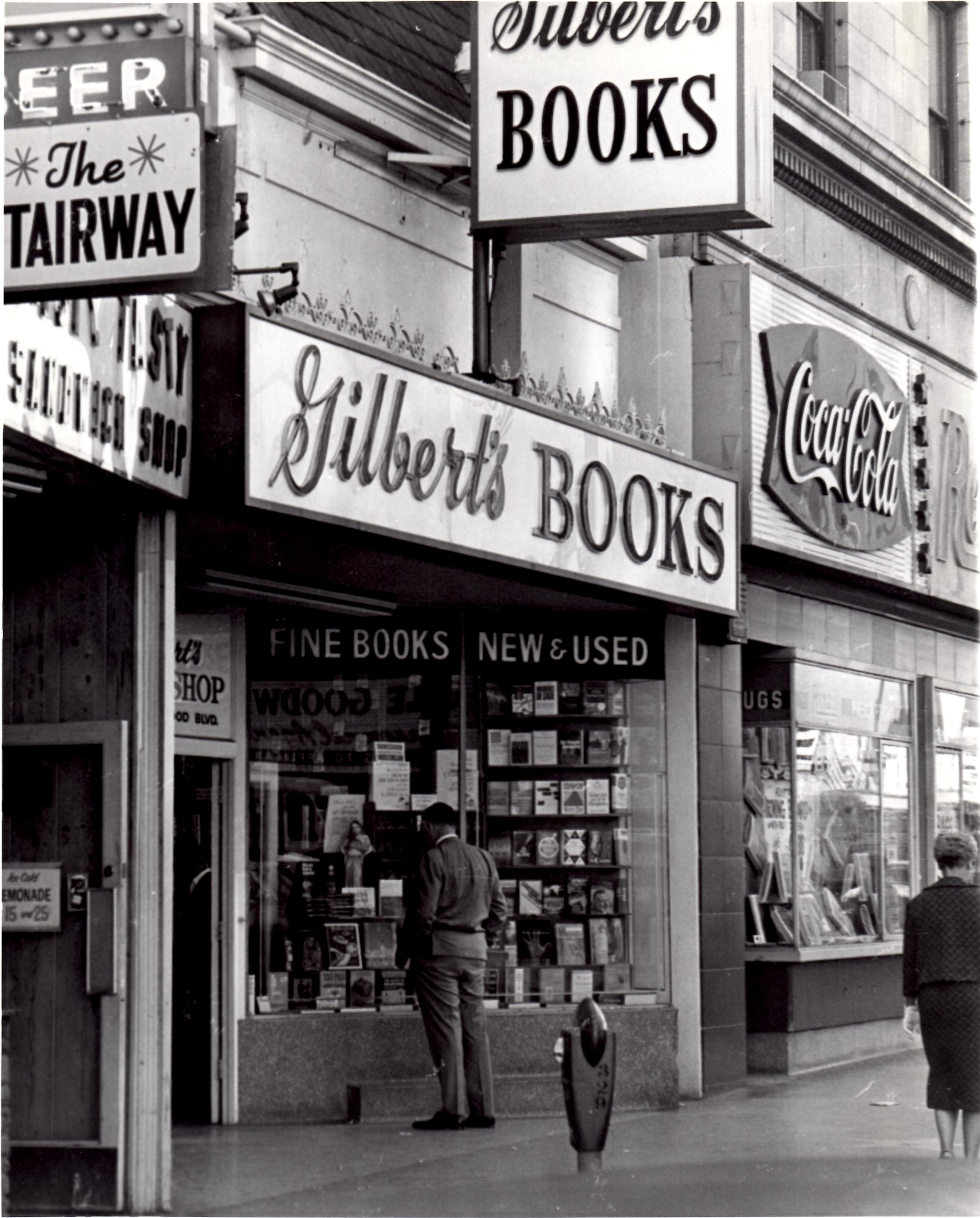 Gilberts Book Shop. Photo by Wayne Braby