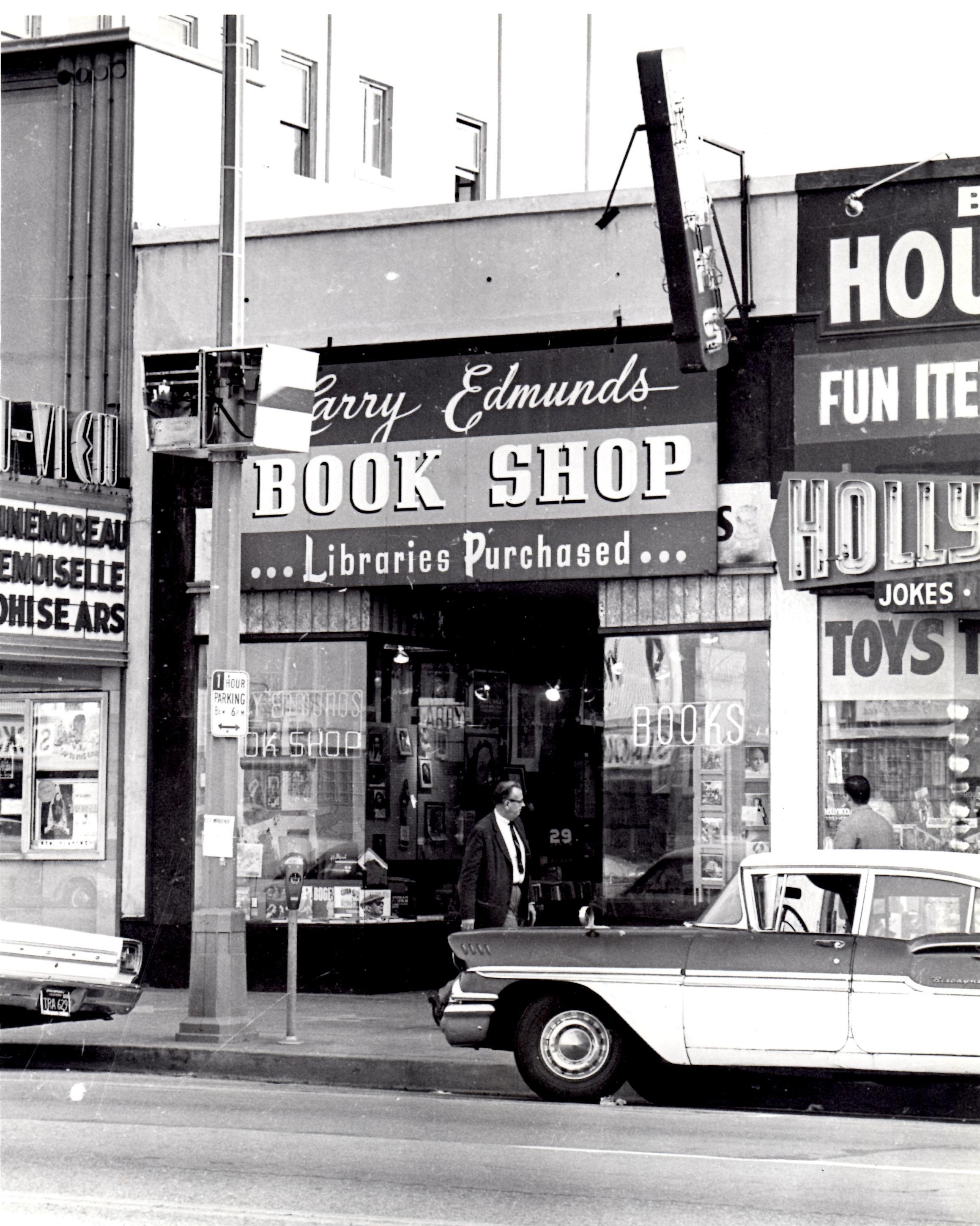Larry Edmunds Book Store. Photo by Wayne Braby