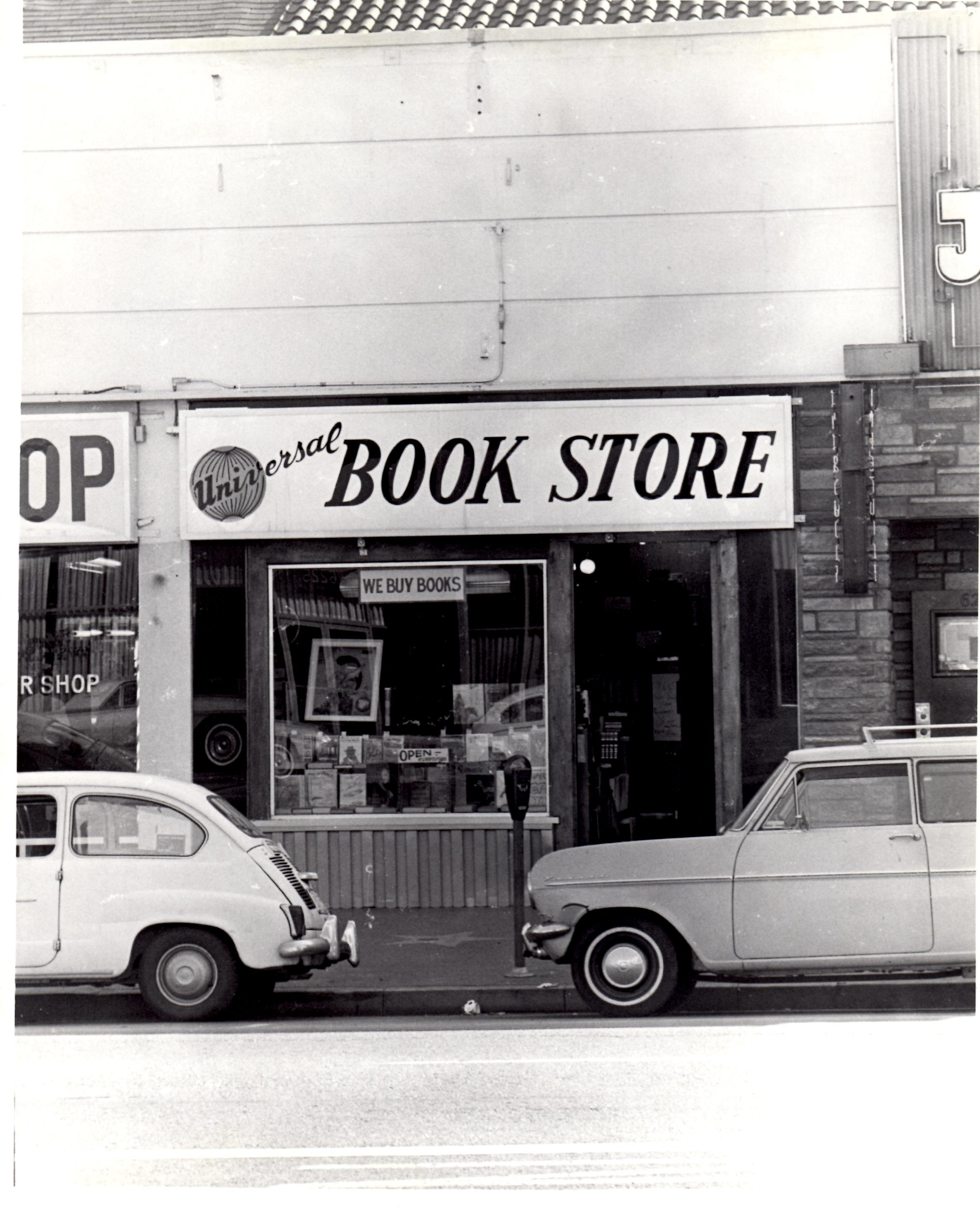 Universal Book Store. Photo by Wayne Braby