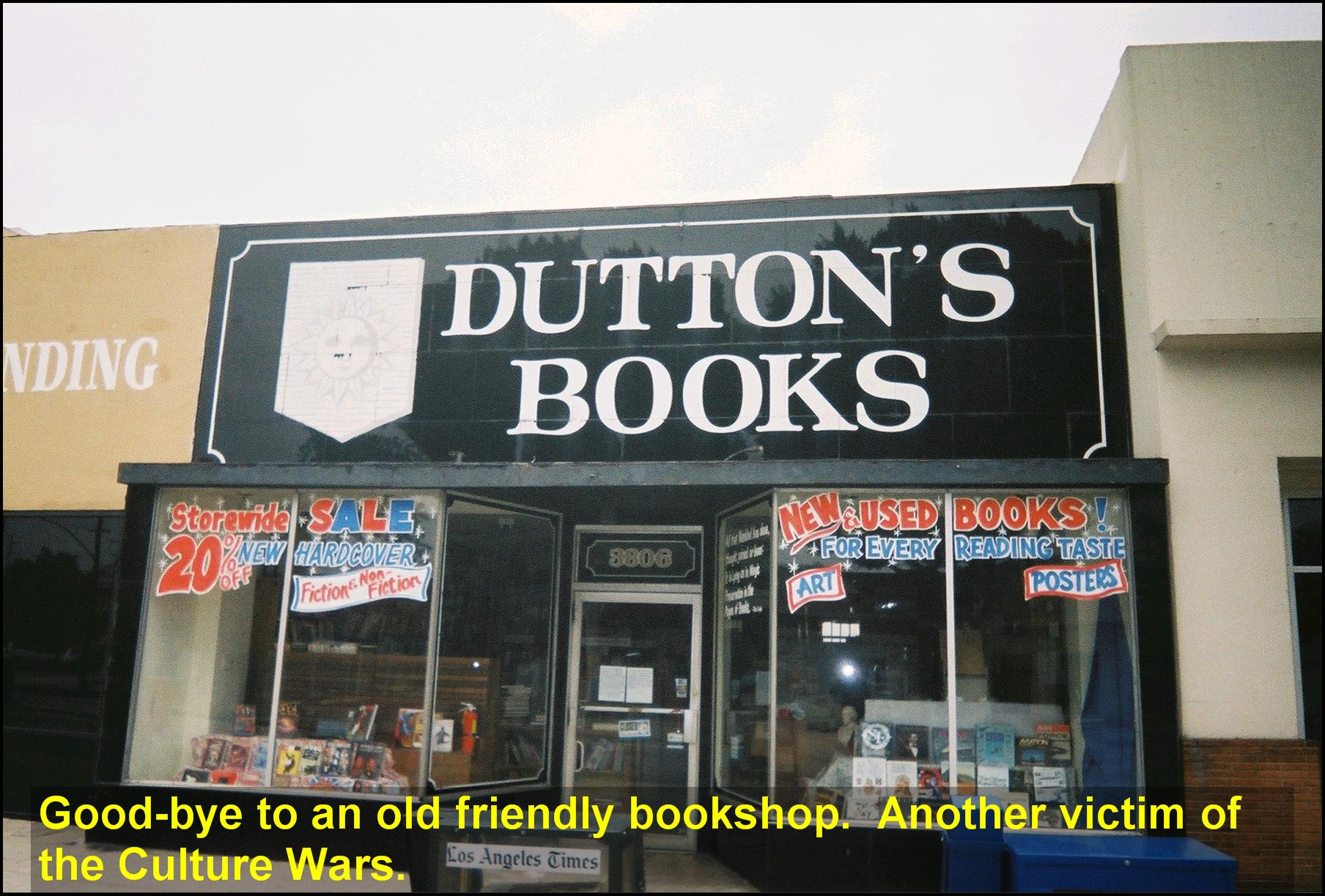 Dutton's Burbank at closing. Photo by Paul Hunt