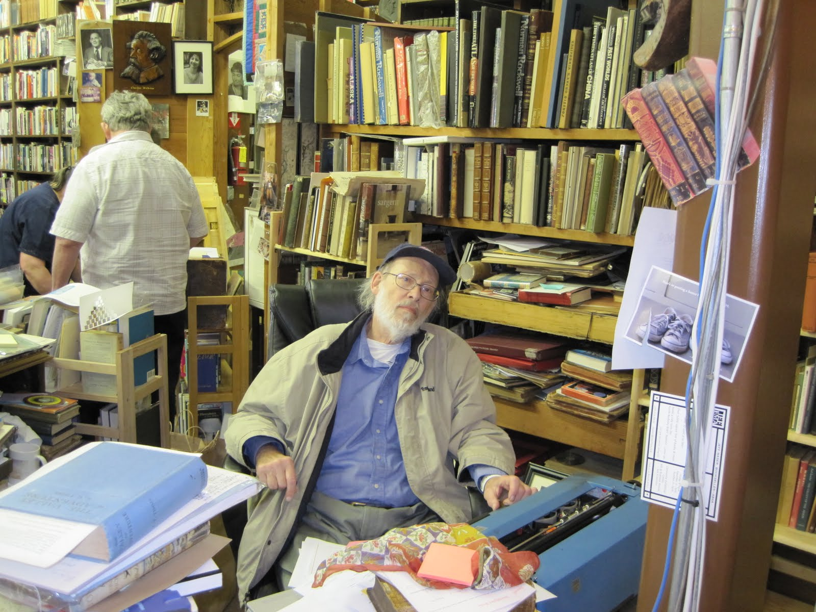 Peter Howard in his Book Domain, 2010