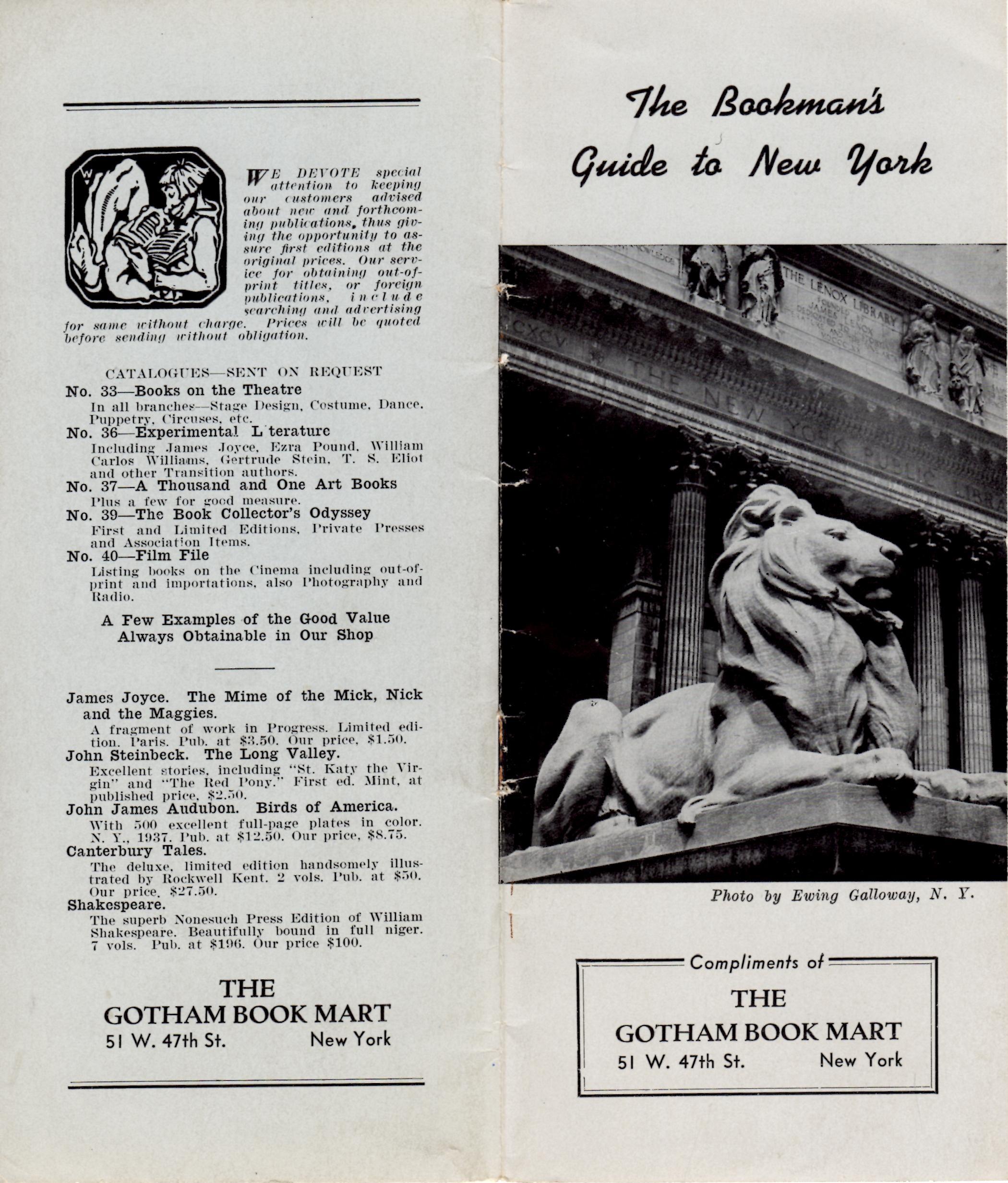 Rare NY Guide